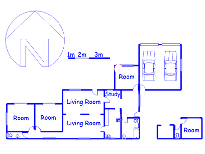 Floor plan of the property in Belfast