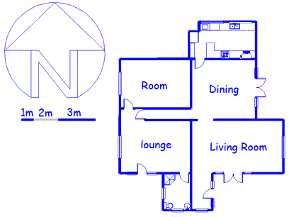 Floor plan of the property in Norwood