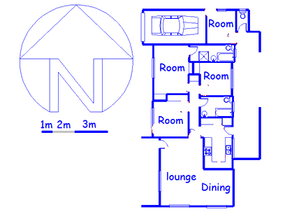 Floor plan of the property in Ashley