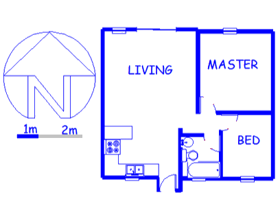 Floor plan of the property in Ridgeway