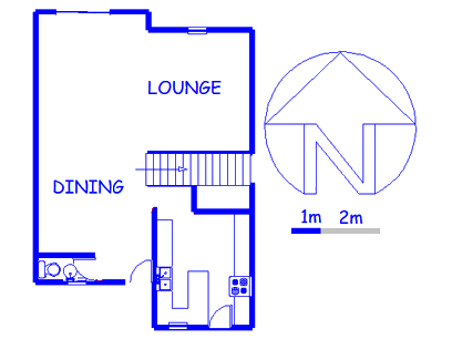 Floor plan of the property in Khyber Rock