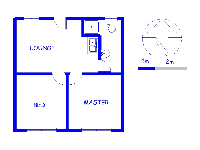 Floor plan of the property in Hillcrest