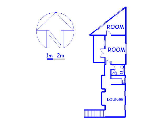 Floor plan of the property in Cowies Hill