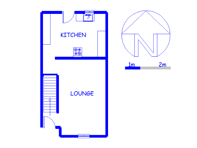 Floor plan of the property in Birchleigh