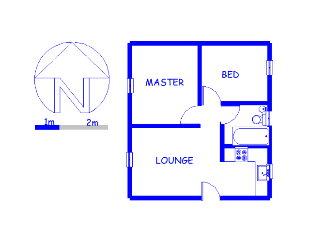 Floor plan of the property in Fairlands