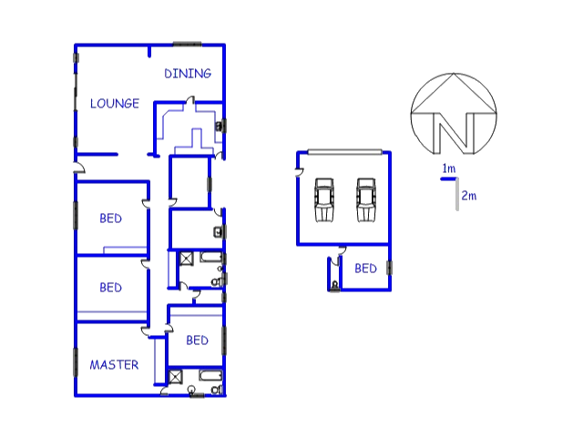 Floor plan of the property in Waverley