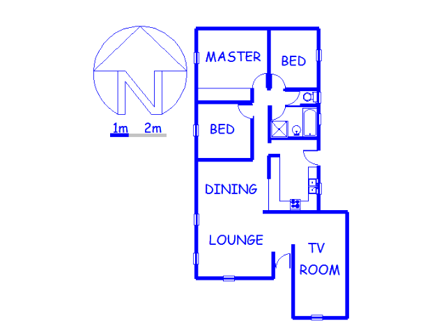 Floor plan of the property in Lindhaven