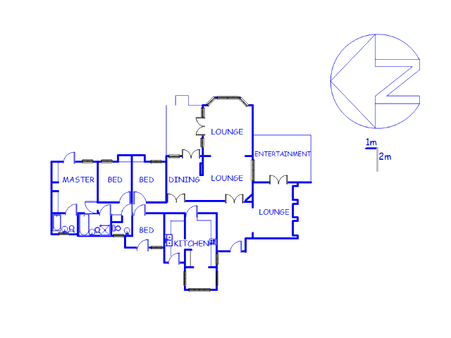 Floor plan of the property in Bryanbrink