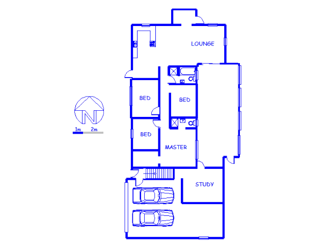 Floor plan of the property in Athlone