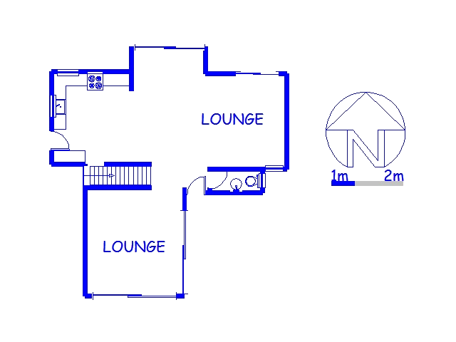 Floor plan of the property in Ballitoville