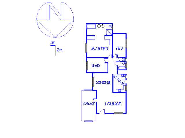 Floor plan of the property in Mid-ennerdale