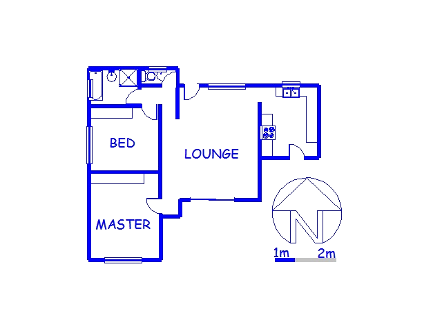 Floor plan of the property in Merrivale