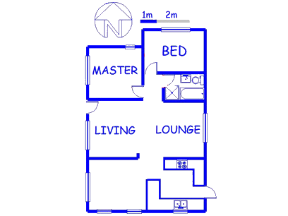 Floor plan of the property in Richmond - CPT