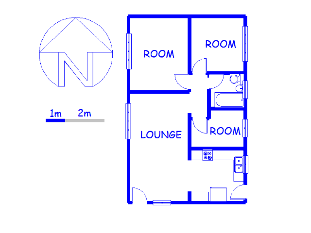 Floor plan of the property in Earlsfield