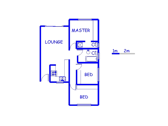 Floor plan of the property in Croydon