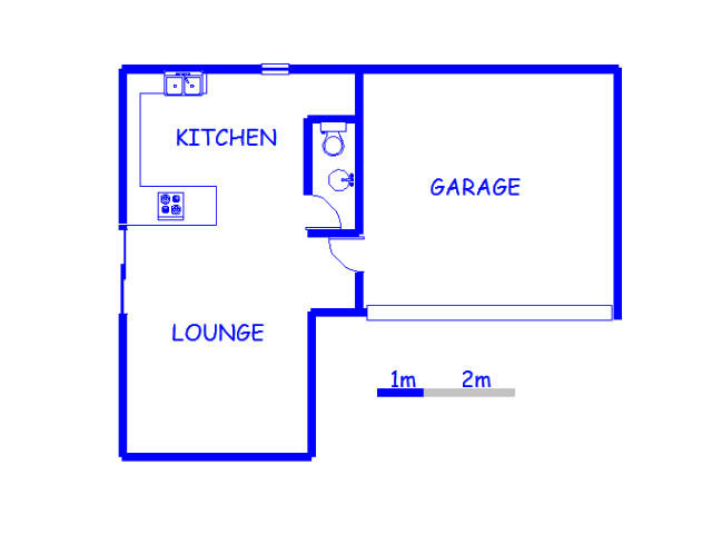 Floor plan of the property in Dal Fouche