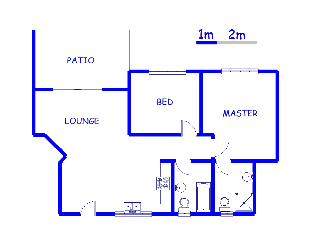 Floor plan of the property in Gosforth Park