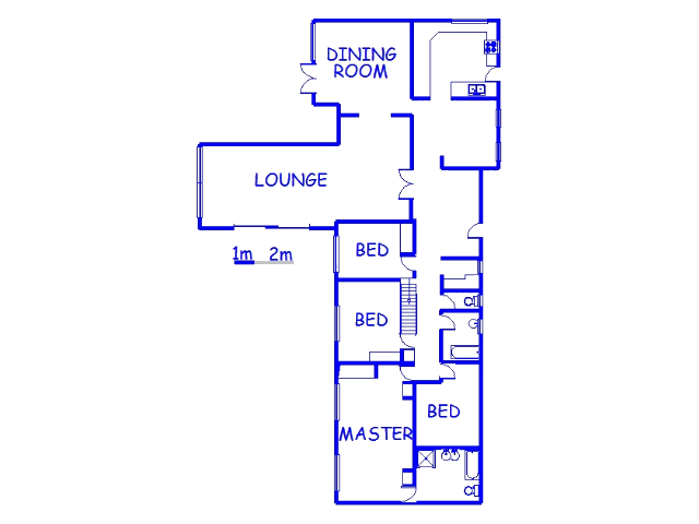 Floor plan of the property in Clifton Park