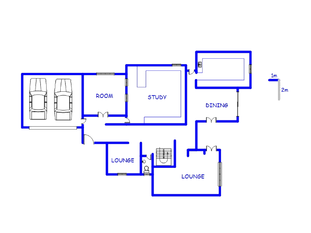 Floor plan of the property in Sinoville