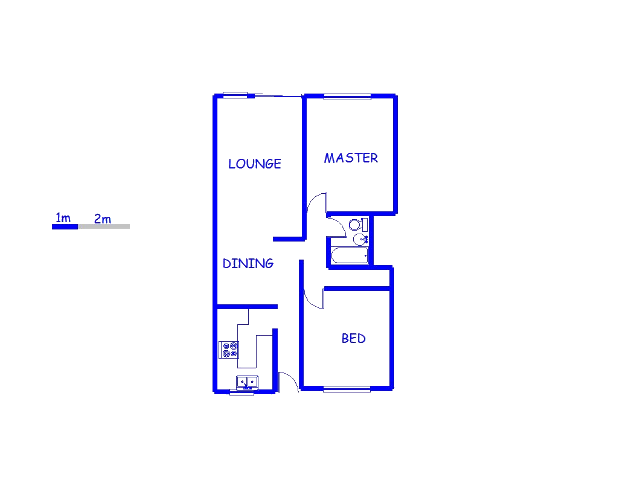 Floor plan of the property in Southdale