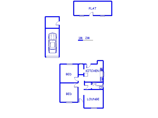 Floor plan of the property in Sidwell