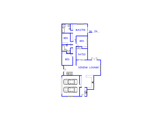 Floor plan of the property in Aurora
