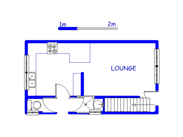 Floor plan of the property in Moorton