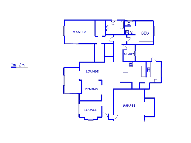Floor plan of the property in Greenstone Hill