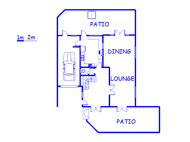 Floor plan of the property in New Hanover