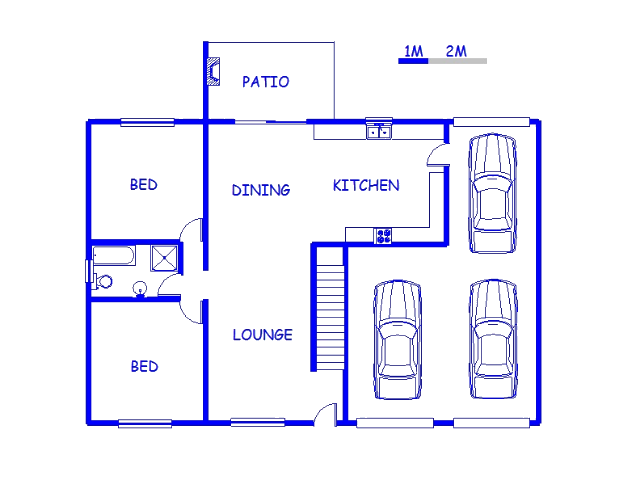 Floor plan of the property in Colchester