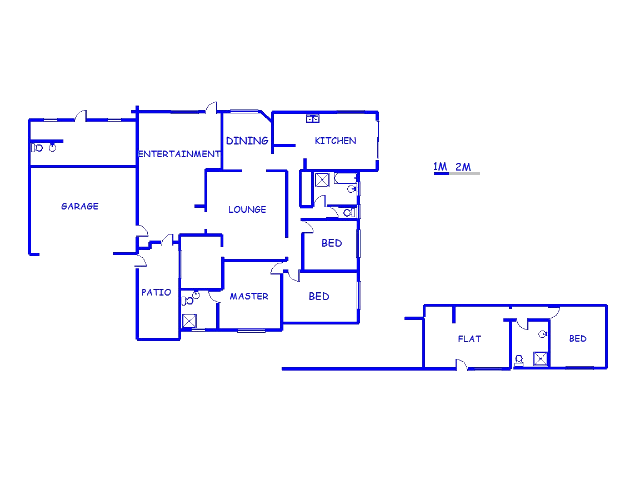 Floor plan of the property in Greenside