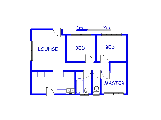 Floor plan of the property in Ramsgate