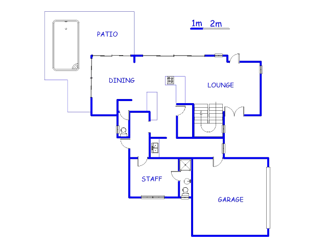 Floor plan of the property in Silverwoods Country Estate
