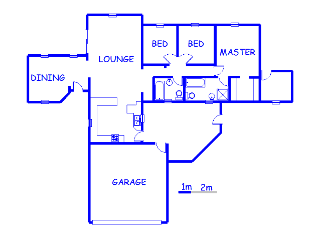 Floor plan of the property in Dersley