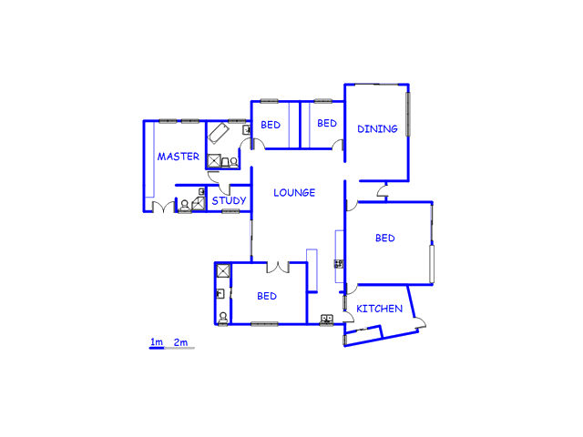 Floor plan of the property in Panorama