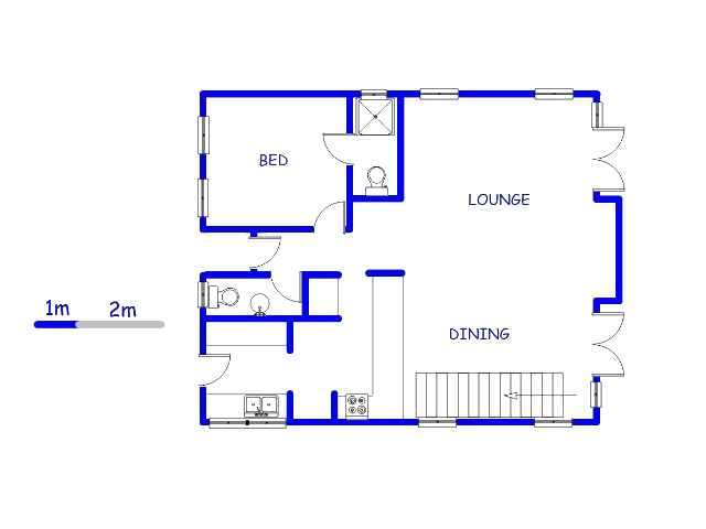 Floor plan of the property in Woodlands Lifestyle Estate