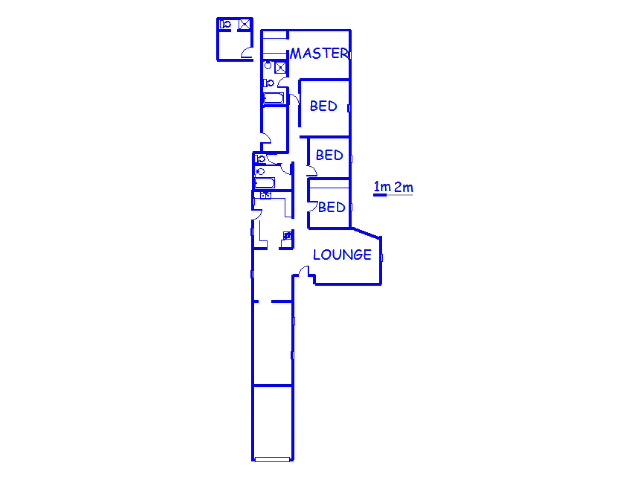 Floor plan of the property in Illiondale