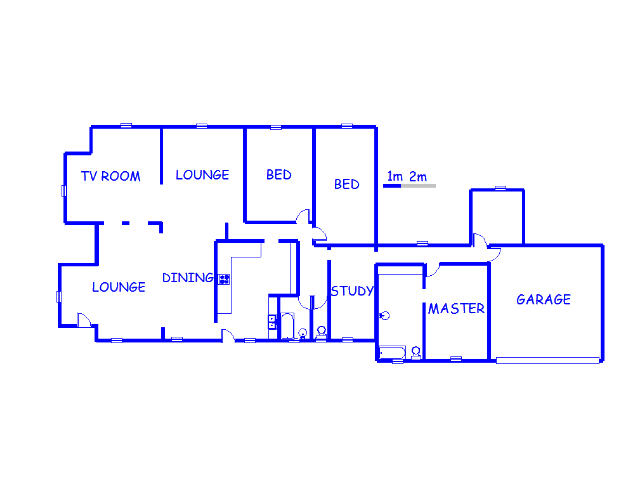 Floor plan of the property in Sundra