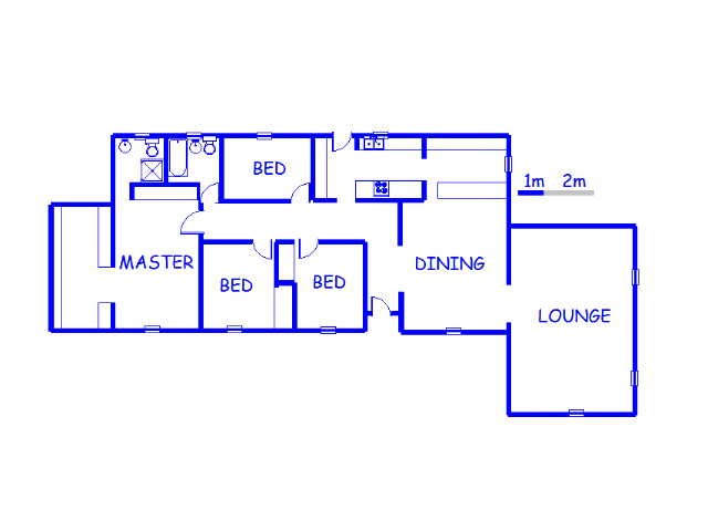 Floor plan of the property in Cresslawn