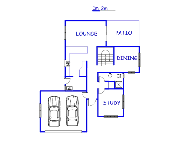 Floor plan of the property in Rayton