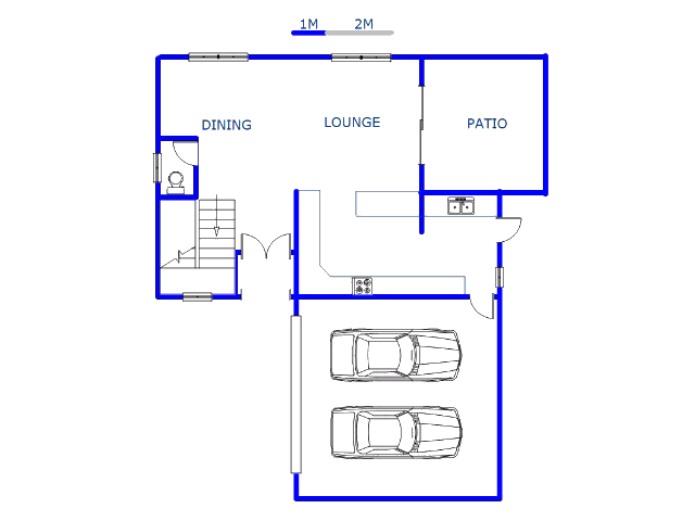 Floor plan of the property in The Ridge Estate