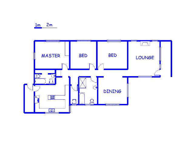 Floor plan of the property in Raisethorpe