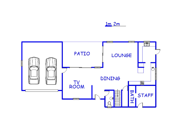 Floor plan of the property in Silver Stream Estate