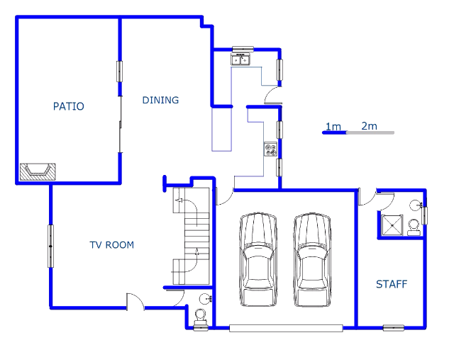 Floor plan of the property in Six Fountains Estate