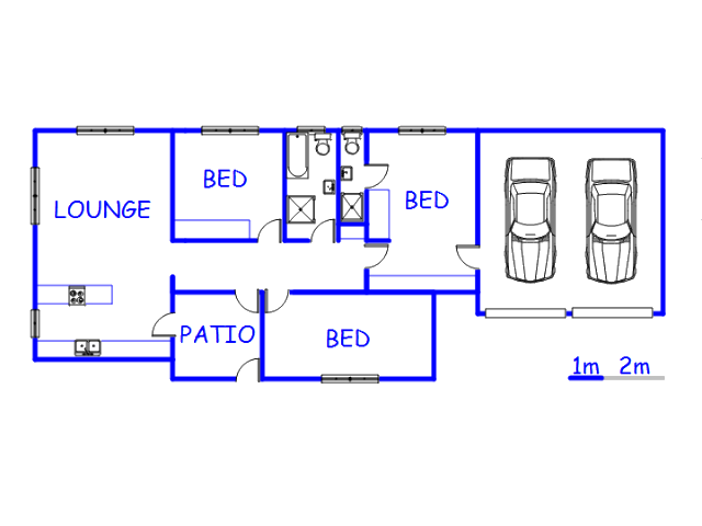 Floor plan of the property in Uitzicht