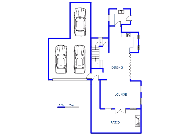 Floor plan of the property in Cormallen Hill Estate