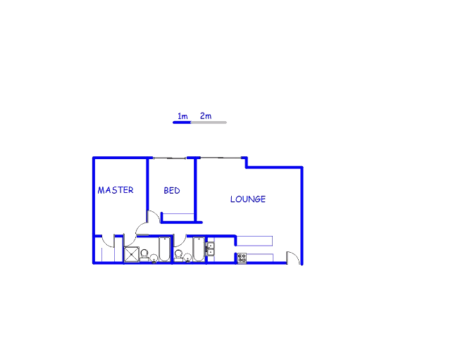 Floor plan of the property in Morningside