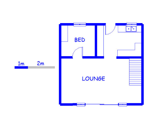 Floor plan of the property in Redfern
