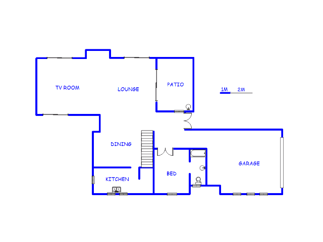 Floor plan of the property in The Hills