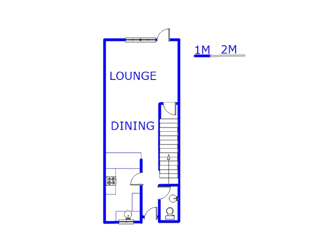 Floor plan of the property in Windsor